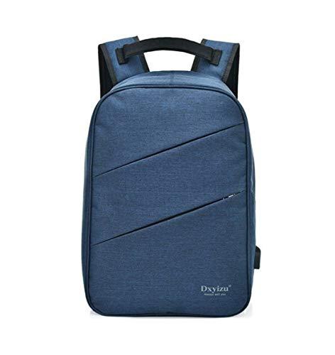 HF morning Arbeit 14 Zoll Laptoptasche Wasserdicht Business Schultasche Einfarbig Leicht Notebookrucksack Mode Groß Laptop Backpack Nylon Herren Rucksack