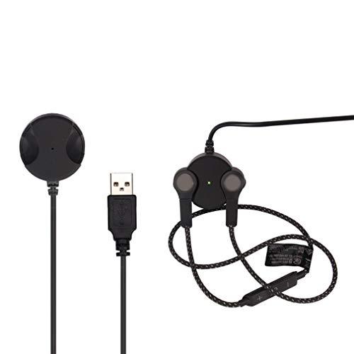 Leoboone Replace Charger Cradle Ladestation für B & O Play by für Bang & Olufsen für Beoplay H5 Wireless Earbud Headphones - Wireless Traveler
