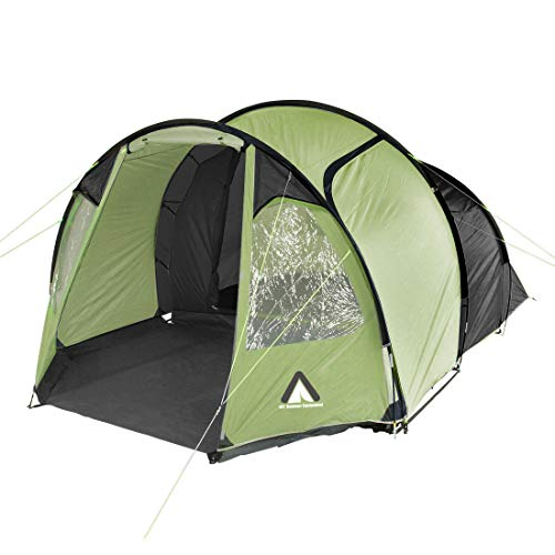 10T Zelt Mandiga Beechnut 3 Mann Tunnelzelt wasserdichtes Campingzelt 5000mm Familienzelt + Vorraum