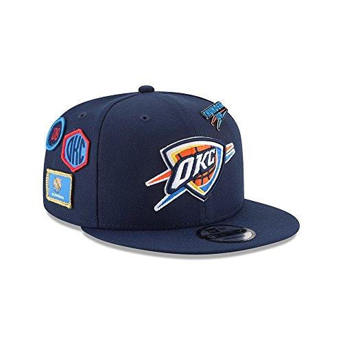 New Era NBA OKLAHOMA CITY THUNDER Authentic 2018 Draft 9FIFTY Snapback Cap