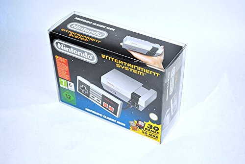 Glacier Games 5 juego de la caja protectora para Nintendo Mini clásico:...