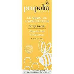 Sirop Gorge - Propolia - Propolis - Miel - Citron -Pin - 145 ml - Made in France