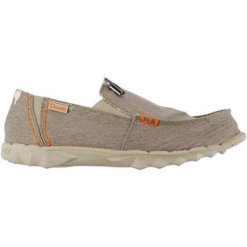 Dude Shoes Men's Farty Stretch Beige Slip On / Mule Beige