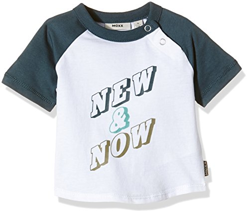 Mexx Baby - Jungen T-Shirt, MX3021378, Gr. 56, Mehrfarben (Bright White 113) Preisvergleich