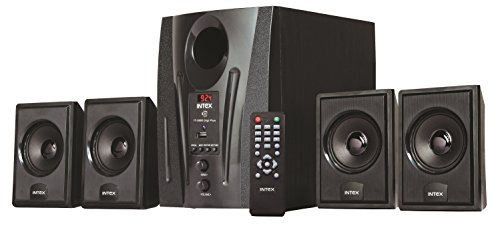 Intex IT-2655 DigiPlus 4.1 Channel Multimedia Speakers