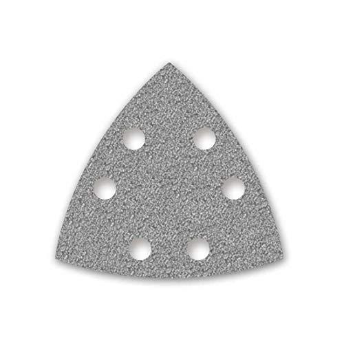 MENZER Platinum Klett-Schleifblätter, 93 mm, 6-Loch, Korn 40, f. Deltaschleifer, Halbedelkorund (50 Stk.)