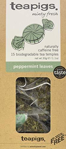 teapigs pfefferminztee 15 tempel, 1er Pack (1 x 54 g)
