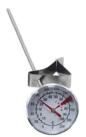 Grunwerg Stainless Steel Milk Frothing Thermometer