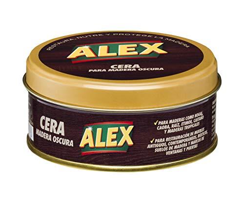 Alex - Lata Cera para Madera Oscura - 250 ml