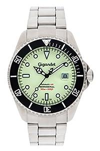 Gigandet G2-011 - Reloj para hombres, correa de acero inoxidable color plateado de Gigandet