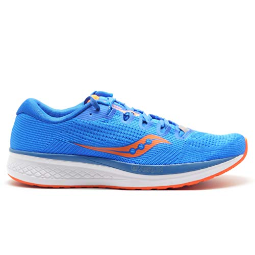 Saucony Jazz 21, Scarpe Running Uomo, Blu (Blue/Orange 36), 41 EU