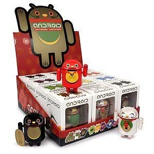 """Android Mini Lucky Cat Collectible Figure 3"""" (Random Box*, 1 toy only)"""