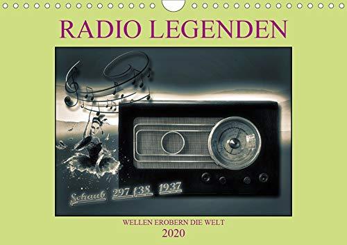 RADIO LEGENDEN (Wandkalender 2020 DIN A4 quer)