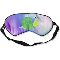 Funny Animal Green Snail 99% Eyeshade Blinders Sleeping Eye Patch Eye Mask Blindfold for Travel Insomnia Meditation preisvergleich bei billige-tabletten.eu