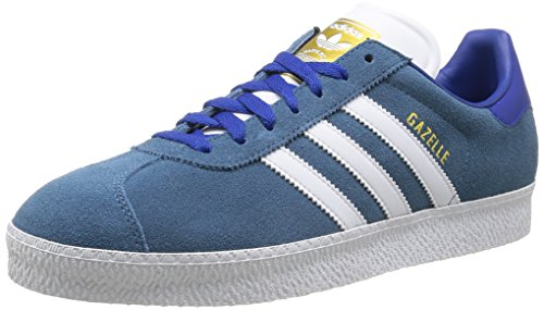 Adidas, Gazelle II, Scarpe Sportive, Uomo Ststow/Ftwwht/Goldmt