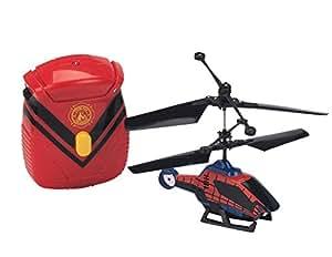 Spider-Man - 7905 - Véhicule Miniature - Hélicoptère Contrôlable avec Main - 12 cm