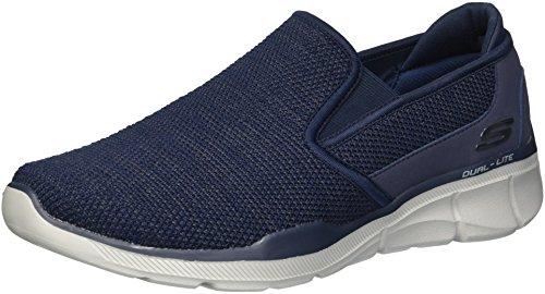 Skechers Herren Equalizer 3.0-Sumnin Slip On Sneaker, Blau (Navy NVY), 45 EU