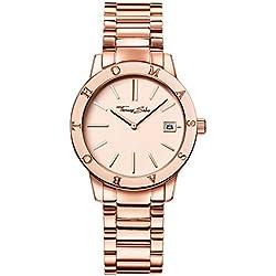 "Thomas Sabo Watches, Damenuhr ""SOUL"", Edelstahl, WA0175-265-208"