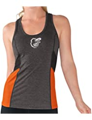 "Baltimore Orioles Women's G-III MLB ""Strength"" Workout Racerback Tank Top Shirt Chemise"