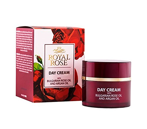 BioFresh Royal Rose Tagescreme mit Arganöl & Rosenöl & Rosmarin & Jojobaöl / Day Cream with Rose...