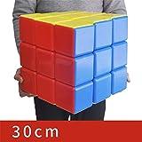 Ysss 30 Cm Big Rubik Cube Super Large Color Tridimensional 30Cm Rubik Cube Gigante Niños Adultos Juguetes educativos