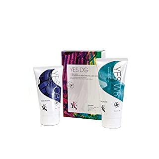 YES DG (Double Glide) organic water and plant-oil based personal lubricants, 80ml & 100ml