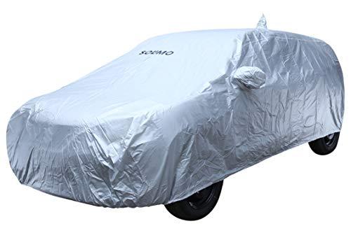 Amazon Brand - Solimo Maruti Suzuki Baleno Water Resistant Car Cover (Silver)