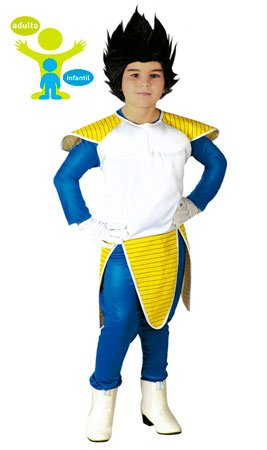 Déguisement guerrier spatial manga enfant--10 à 12 ()