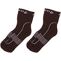 Craft Stay Cool, Juego de 2 pares de calcetines para Unisex adulto, Negro (Black), L (Talla fabricante: 43-45)