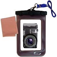 La pochette étanche Clean and Dry conçue pour l'appareil photo Sony Cyber-shot DSC-HX7V