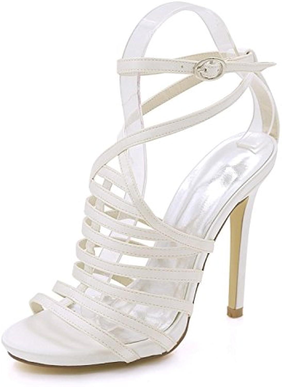 9a162e9408789d des femmes élégantes chaussures à talon pointe boucle ouverte de de de  demoiselle d'honneur des chaussures fête d'été à la cour plusieurs ...