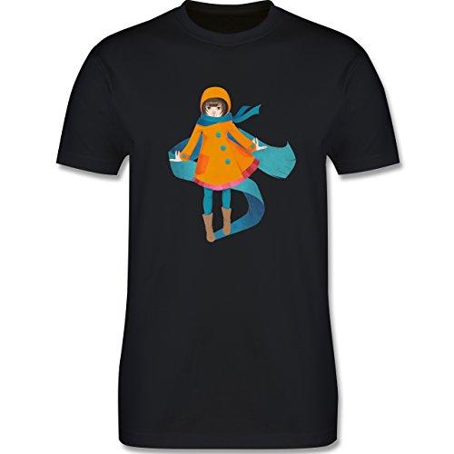 Statement Shirts - Herbstspaziergang - Herren Premium T-Shirt Schwarz