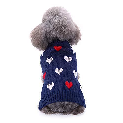 Bluelucon Hund Kleidung Hunde Warme Hoodies Mantel T-Shirt Kleidung Pullover Haustier Welpen Sportliches Design Kapuzenmantel-Mantel-Kleidung für großen Hund (Slipper Kragen)