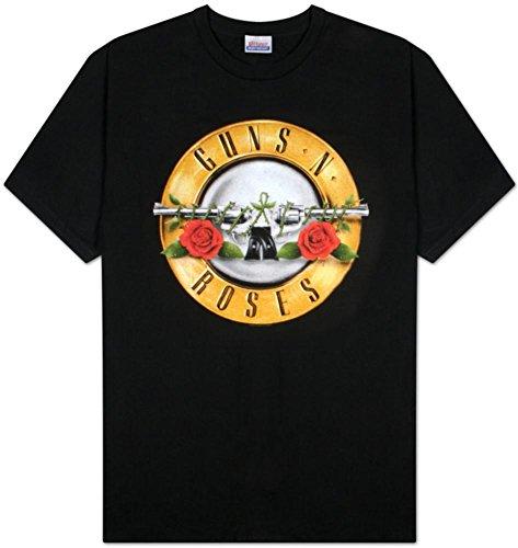 Old Glory para hombre Guns N Roses Bullet Logo T-Shirt