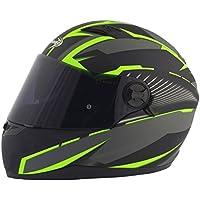 Stormer casco integral Pusher Xenon verde mate talla Déco verde mate, talla XS