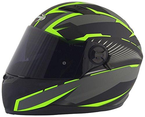 Stormer Casco Integrale Pusher Xenon Verde Opaco Dimensioni decorativo verde opaco, taglia XS