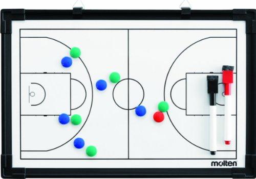 MOLTEN Profesional Pizarra Magnética de Baloncesto, Mujer, Blanco, Talla Única