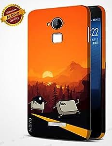 alDivo Premium Quality Printed Mobile Back Cover For Coolpad Dazen Note 3 / Coolpad Dazen Note 3 Back Case Cover (MKD181)