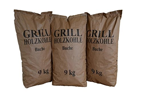 Grillholzkohle Holzkohle Buche 27 kg