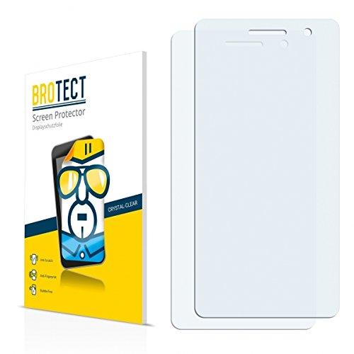 2X BROTECT HD Clear Displayschutz Schutzfolie für Oppo R3 (kristallklar, extrem Kratzfest, schmutzabweisend)