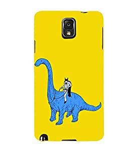 Ebby Printed back cover for Samsung Note 3(Premium Designer case)
