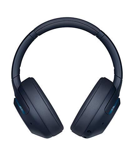 Sony WH-XB900N Bluetooth Noise Cancelling Kopfhörer (Extra Bass,30h Akku, Amazon Alexa & Google Assistant, Gestensteuerung) Blau - 2