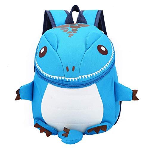 Frecoccialo Kinderrucksack 3D Cartoon Dinosaurier Rucksack Kindergartenrucksack Schultasche Backpack für 1-5 Jährige Jungen und Mädchen im Kindergarten oder Kita - Mädchen Geschenke 3-jähriges