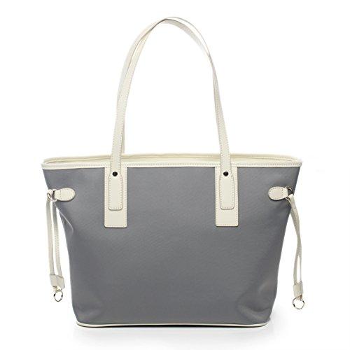 Borsa a tracolla singola/borsa di tela/borsetta/ol borsa pendolari/impermeabile borsa grande semplice-C B