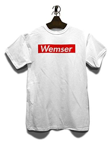 Wemser T-Shirt Weiß