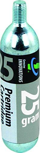 Slime CO2 Kartuschen 25g Threaded (Display Box)-Bulk box of 15, G2166