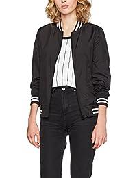 Urban Classics Ladies Diamond Quilt Velvet Jacket, Chaqueta para Mujer, Schwarz (Black 00007), M