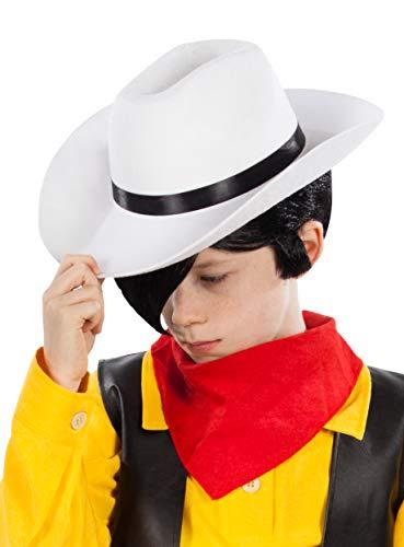 (Maskworld Lucky Luke Cowboyhut für Kinder - Kostümzubehör)