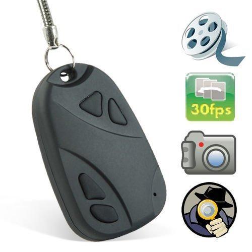 Mengshen® Mini DVR Objektiv D Auto Schlüsselanhänger Hidden Camera Recorder Micro-Kamera-HD 720x480 Pocket-Camcorder MS-808