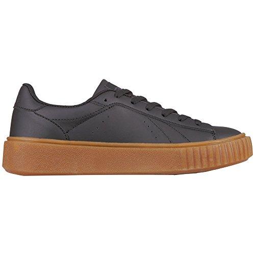 Kappa Meseta PF, Sneaker Donna Schwarz (1111 Black)